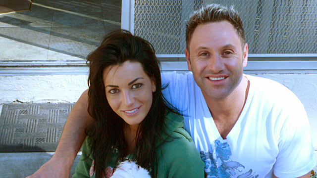 PHOTO: Seen here is Jennifer Schipsi, a beautiful, ambitious real estate agent and Paul Zumot, a fun-loving owner of a local hookah lounge.