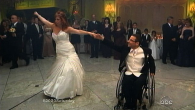 VIDEO: A paraplegic gets his groove back thanks to the woman he loves and his dance teacher.