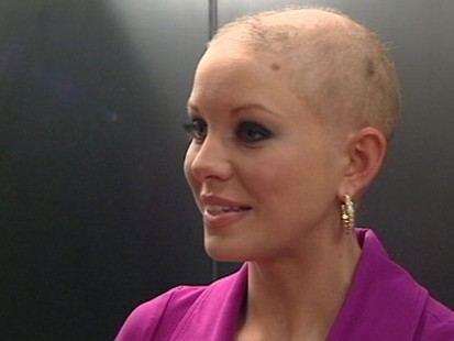 "VIDEO: Kayla Martell copes with hair loss; ""I was given this for a reason."""