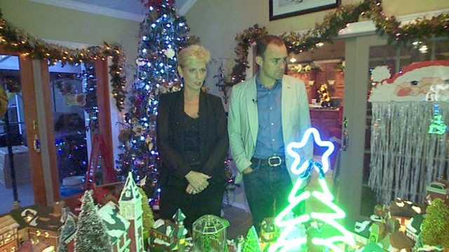 VIDEO: A Tree in Every Corner: The Most Christmased-Out Home Ever