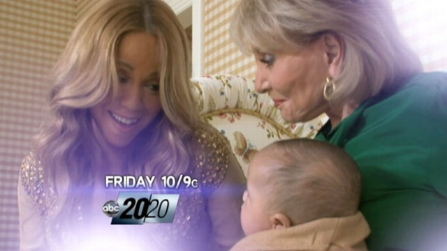 VIDEO: Watch 10 p.m. ET: Mariah Carey, Nick Cannon introduce twins to Barbara Walters.