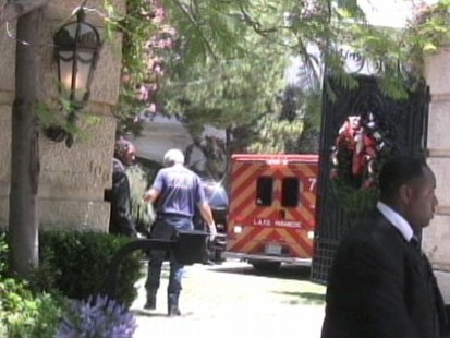 VIDEO: Rare Footage of the Ambulance at Neverland Ranch