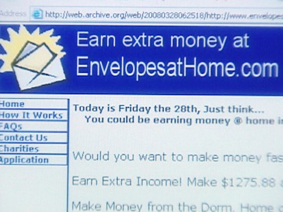 VIDEO: Work at home scams