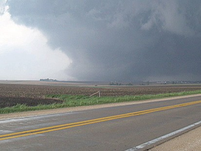 VIDEO: Storm Spotter Sees Tornado Hit