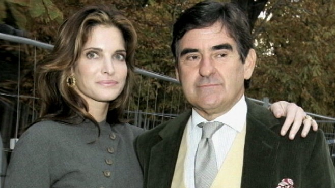VIDEO: Stephanie Seymour and Peter Brant fight over custody and 500 million.