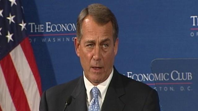 VIDEO: Speaker Boehner Delivers GOPs Jobs Strategy