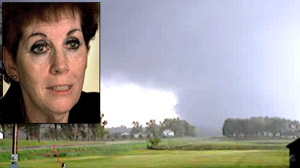 PHOTO Sue Teeple and her husband survived a tornado near their home.