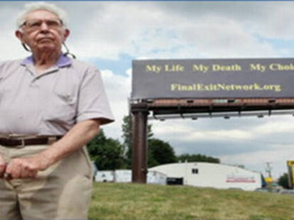 VIDEO: Catholic Church condemns N.J. billboard promoting the Final Exit Network.