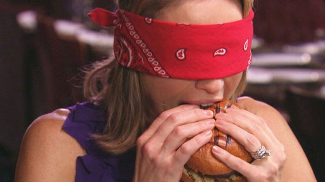 VIDEO: The ABC News correspondent tested five burgers, from a $5 fast-food staple to a $295 gourmet burger.