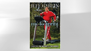 "PHOTO The cover of the book ""My Footprint"" by Jeff Garlin is shown."