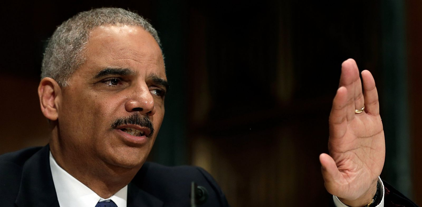 PHOTO: U.S. Attorney General Eric Holder testifies before the Senate Appropriations Committee June 6, 2013 in Washington, D.C.