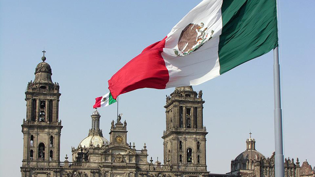 PHOTO: A zócalo is a central town square or plaza, usually located in Mexican cities. The most famous Zócalo is that of Mexico City. The government district of Mexico City is known after this. Zócalos were often the original central squares of Mesoamerica