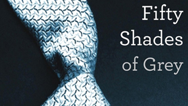 PHOTO: Cover of '50 Shades of Grey'