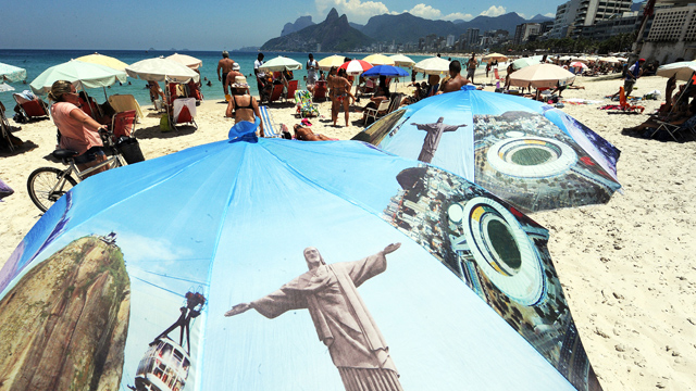 PHOTO:The Ipanema beach in Rio de Janeiro. Immigrating to Brazil could turn out to be a pretty good deal.
