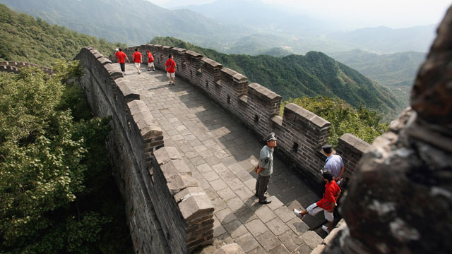 PHOTO: The Great Wall in Mutianyu north of Beijing