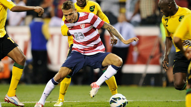 PHOTO: The US defeated Jamaica 1-0 last time both teams met. Today they face off once again, in the final group stage of CONCACAF World Cup Qualifiers. There will be 8 world cup qualifying matches in the Americas tonight.
