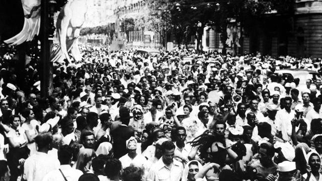 PHOTO:Rio De Janeiro'S Carnival In The 1950S.