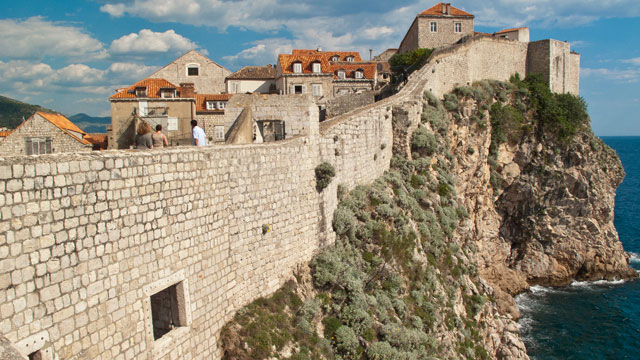 PHOTO: The walls that surround Dubrovnik are about 1.9km long