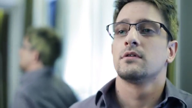 PHOTO: Edward Snowden? Nope, its Andrew Cromeek an American school teacher who plays Snowden in Verax, a new film about the NSA leaker. What sort of ending would you give to a Snowden film?