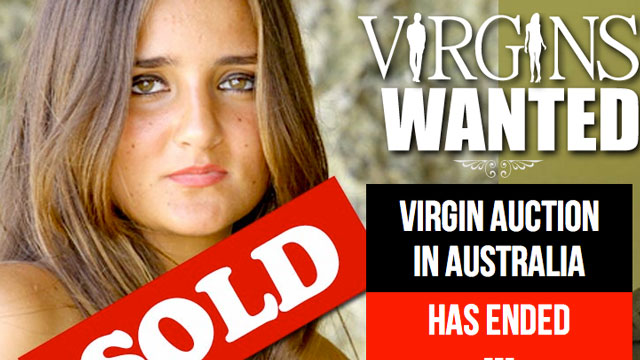 PHOTO: Caratina Migliorini recently auctioned her virginity for $780,000. The auction is part of an Australian documentary project