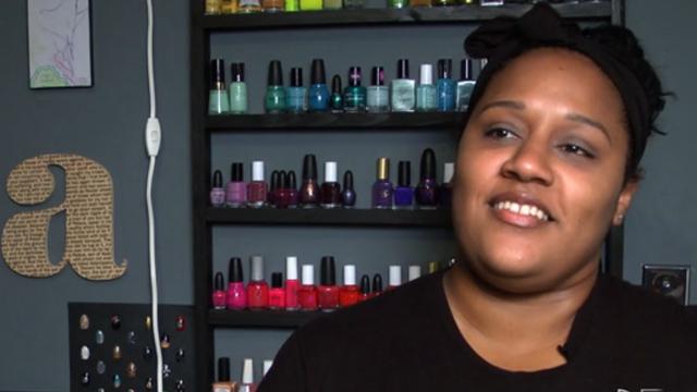 PHOTO:Ami Vega dreams of having her own nail salon