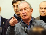 PHOTO:Mayor Michael Bloomberg speaks to the media at Seward Park High School on the lower east side, the site of one of many public shelters set up in preparation of the storm, Sunday, Oct. 28, 2012, in New York.