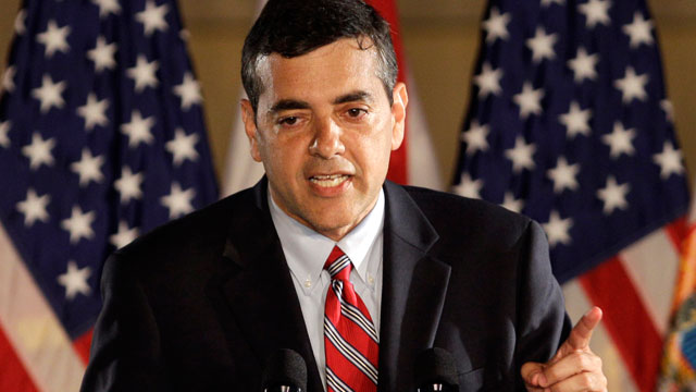 PHOTO:In this Nov. 2, 2010 file photo, then-Florida Republican Congressional candidate David Rivera speaks in Coral Gables, Fla.