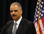 PHOTO:U.S. Attorney General Eric Holder speaks during a news conference in Towson, Md., Wednesday, Oct. 3, 2012, to announce $2.4 million in grants that are intended to assist 13 jurisdictions with intellectual property law enforcement efforts.