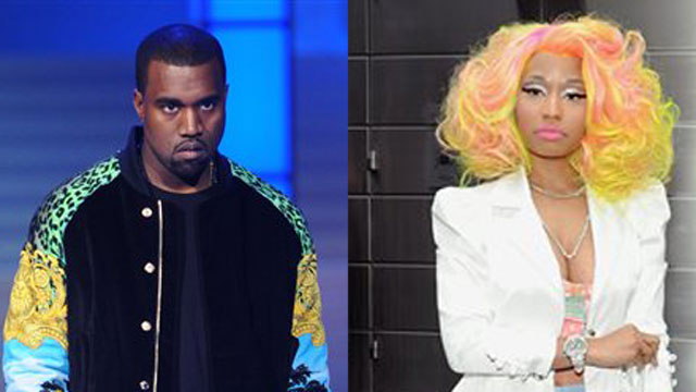 Hip-hop superstars Kanye West and Nicki Minaj are known for taking fashion risks, for better or for worse.