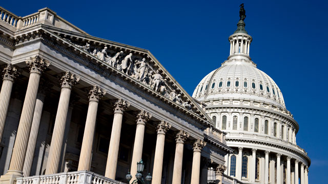 PHOTO: The Capitol is seen in Washington, D.C. on Thursday, Nov. 29, 2012.