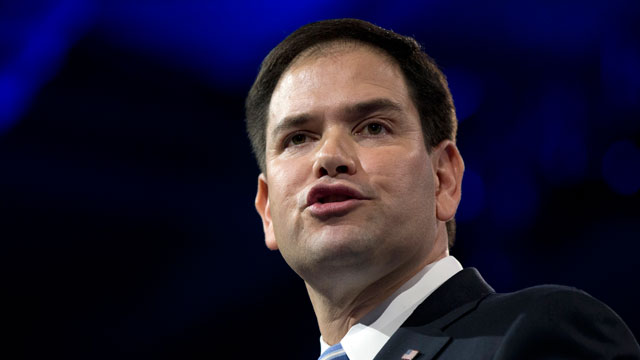 PHOTO: Sen. Marco Rubio, R-Fla., speaks at the 40th annual Conservative Political Action Conference