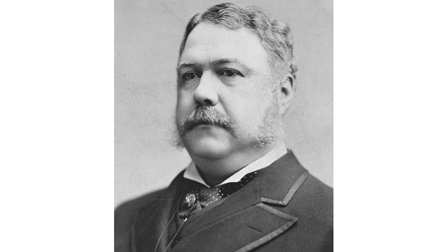 PHOTO:Chester A. Arthur, 21st President of the United States.