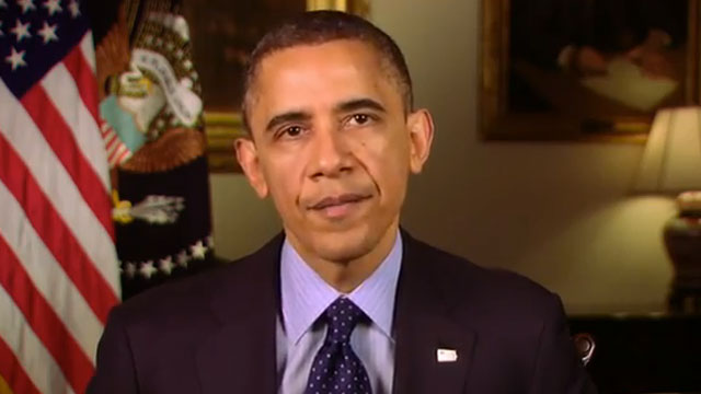 PHOTO: The White House released a video on Friday of President Obama responding to calls for stricter gun control.
