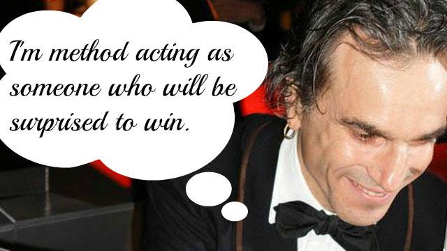 PHOTO:Best Actor nominee Daniel Day-Lewis