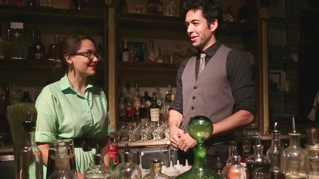 PHOTO:Watch us learn to make cocktails with eggs.