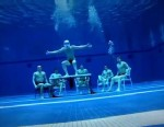 PHOTO:You can do it underwater, you can do it in the air. You can do the Harlem Shake, do it, do it anywhere.