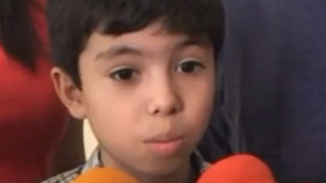 PHOTO: A 10-year-old from Mexico wants to attend Harvard.