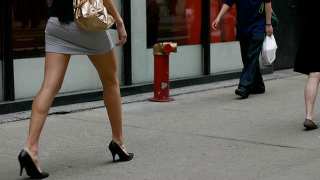 PHOTO:  The security chief of a Mexican border town has decided to ban women from wearing mini-skirts.