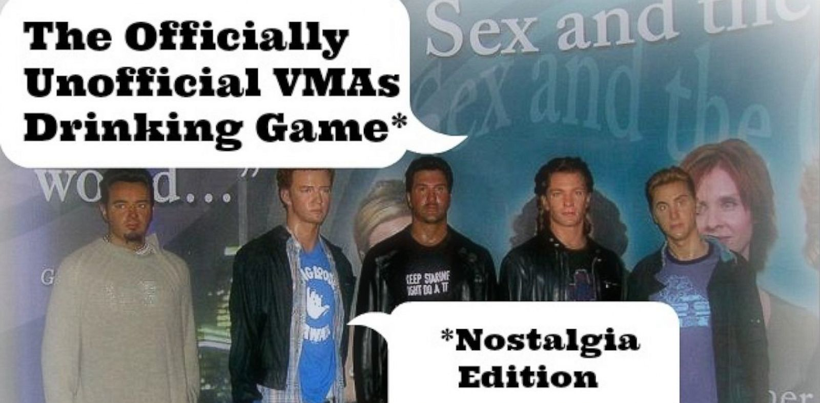 PHOTO: *N Sync wont be reuniting at the VMAs. Theres only one way to cope.