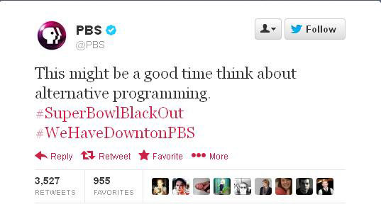 PHOTO:PBS hopes you'll nix the 49ers for something a bit older.