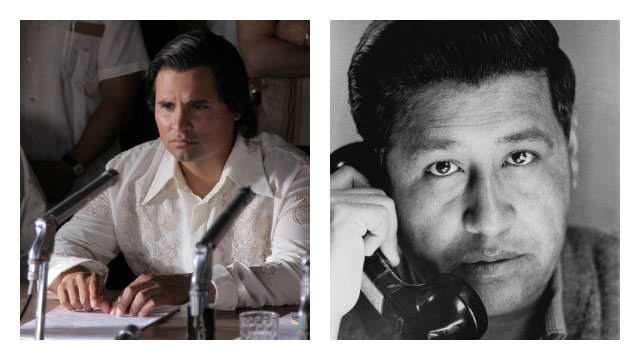 PHOTO: Michael Peña as Cesar Chavez