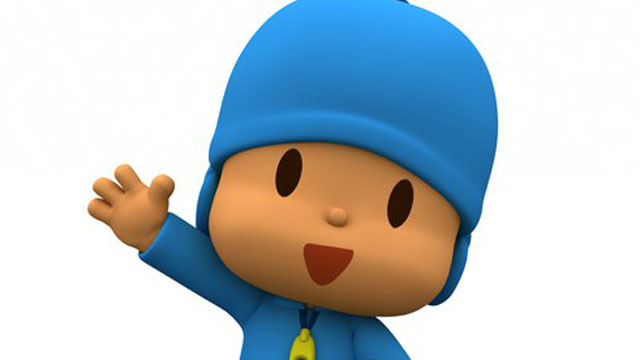 PHOTO:A new app aimed at getting low-income English-learners ready for school features Pocoyo, a popular animated television character.
