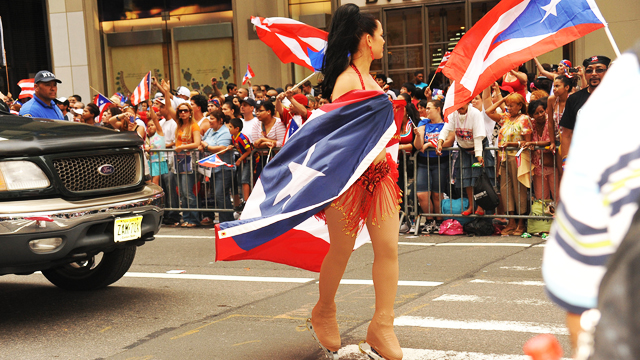PHOTO:The 54th Annual Puerto Rican Day Parade in 2011 down New York Citys Fifth Ave.