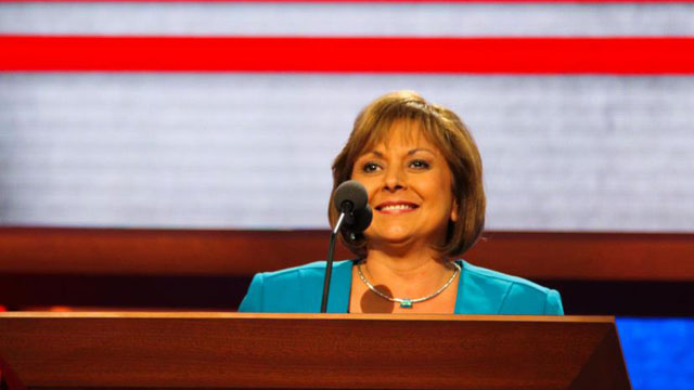 New Mexico Governor Susana Martinez speaking at the Republican National Convention in August.