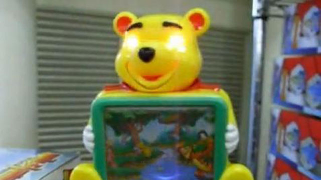 PHOTO:Does this electronic bear remind you of anyone?