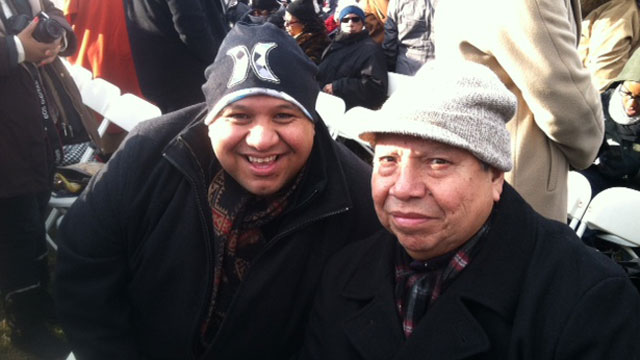 PHOTO: Members of the Coeur d'Alene tribe are excited to attend their second inauguration.