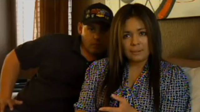 PHOTO: Disabled war veteran James Courtneys wife, Sharon, is facing possible deportation to Mexico.