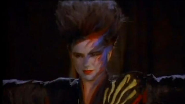 PHOTO: Patty Smyth, all Warrior'd out.