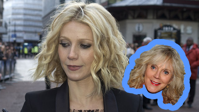 PHOTO:Actress Gwyneth Paltrow shares many similarities with her mother, actress Blythe Danner.