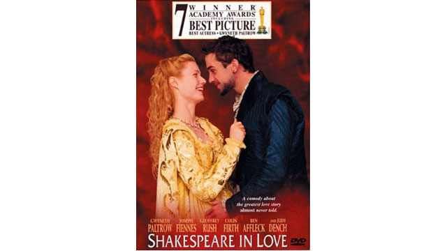 PHOTO:The cover of 'Shakespeare In Love'.